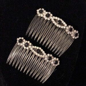 Accessories - Rhinestone hair combs